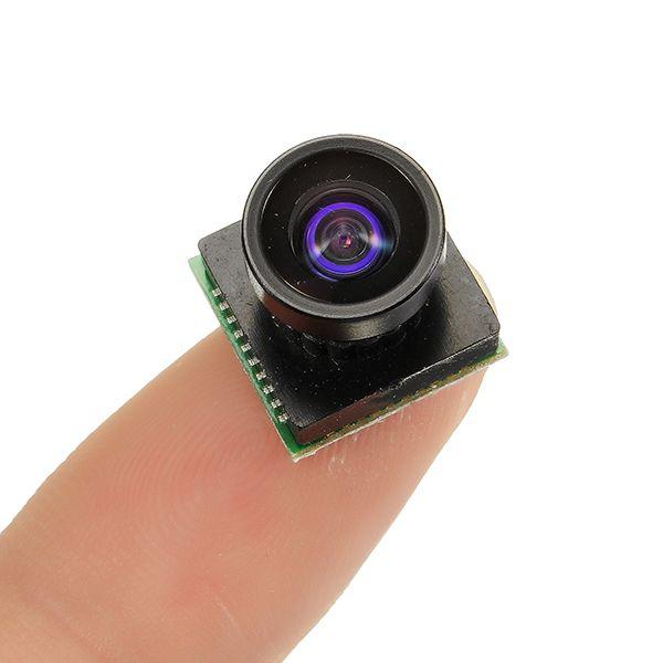 600TVL 2.8mm Lente 1/4 CMOS de 110 grados de gran angular PAL / NTSC FPV Cámara