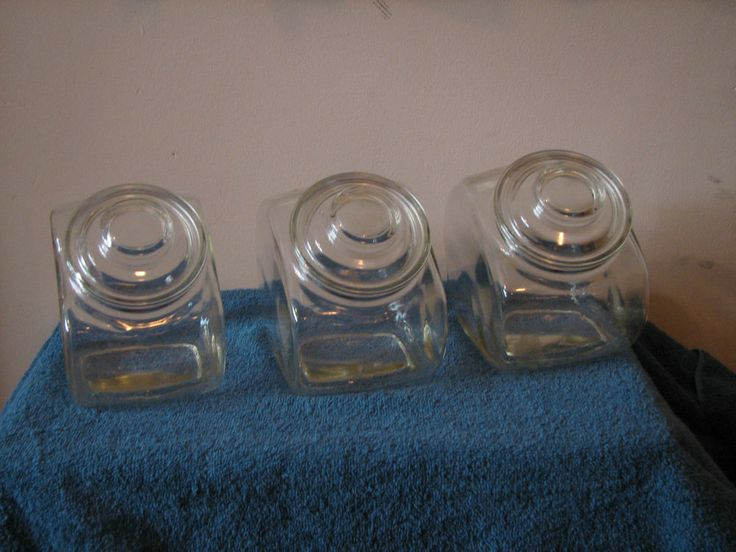 Flour and Sugar Containers set of three (3)