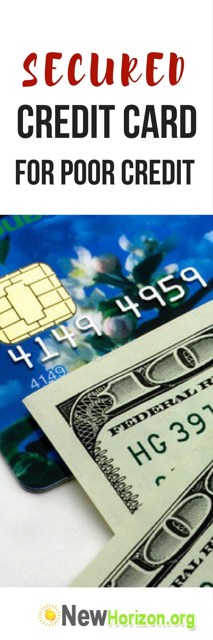 List of Secured Credit Card For Bad Credit.