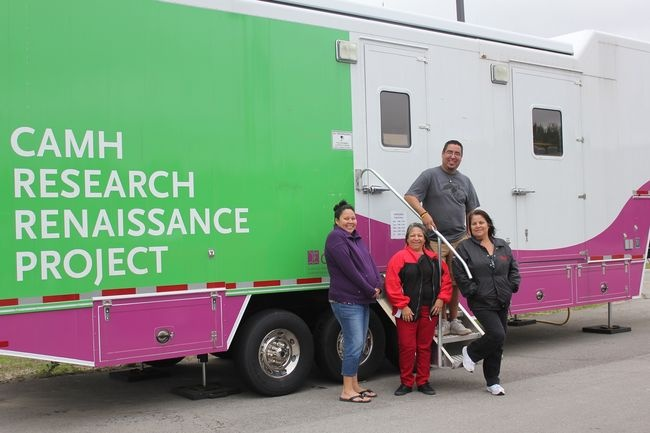 CAMH's Mobile Research Lab