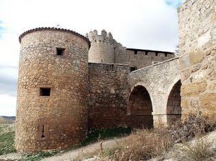 Castillo de Caracena detalle, Provincia de Soria, España