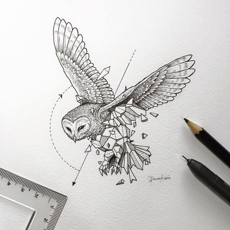 Kerby Rosanes, Philippines-based artist, (internet handle: Sketchy Stories), from his series Geometric Beasts.