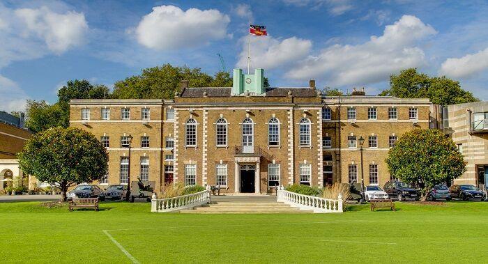 British Fashion Ambassador, Kelly England Prehn; Princess Olga Romanoff; Lady Collin Campbell; Vicki Michelle at Armoury House London.