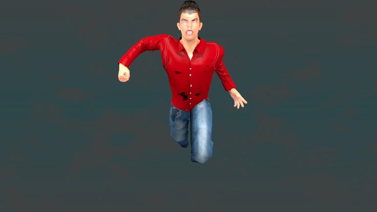 how to make human in blender
