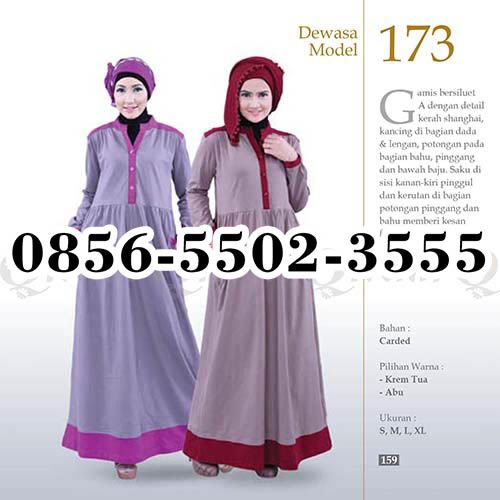Gamis Qirani model 96, HP.0856-5502-3555