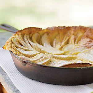 German Apple Pancake Recipe | MyRecipes.com Mobile