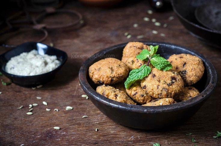 Thinai Masala Vadai, a healthy twist to the regular masala vadai by including millet grains .#fritters #vegan #glutenfree #foodphotography