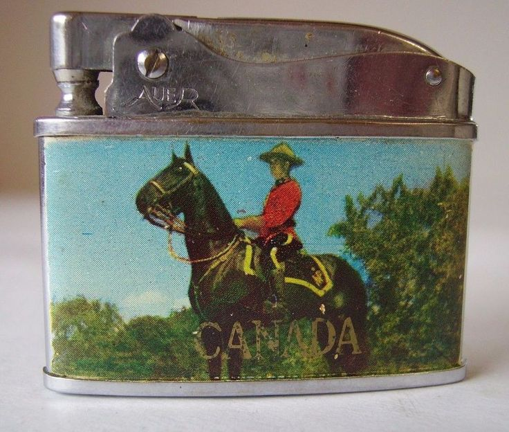 Royal Canadian Mounted Police (R.C.M.P.) Wafer Lighter