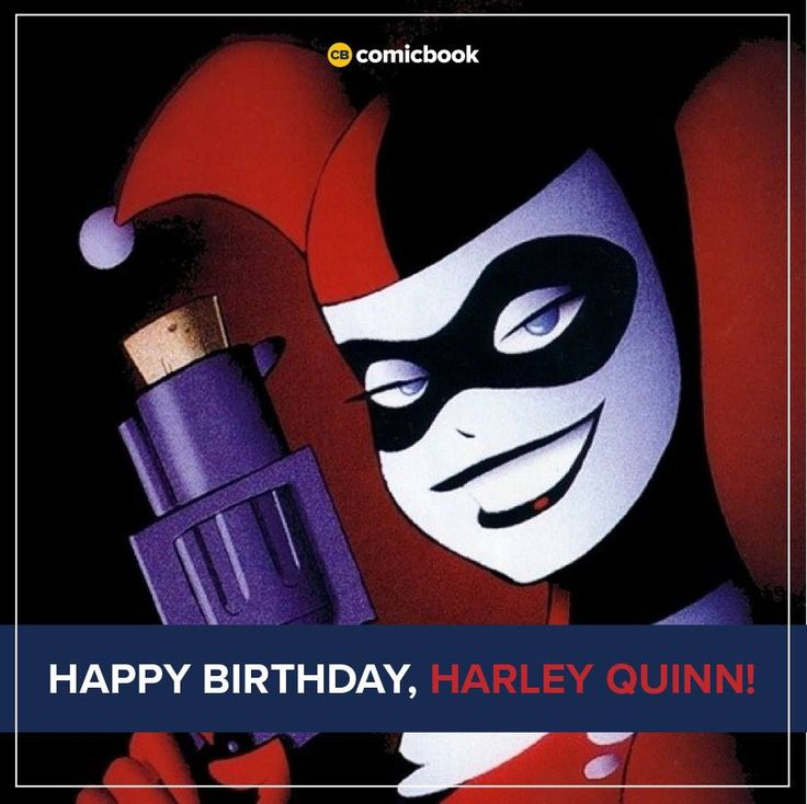 """Batman's life just hasn't been the same since she came around. Happy birthday Harley Quinn! Her first appearance was in the Batman: The Animated Series episode """"Joker's Favor."""" (1992) """" It originally aired on September 11, 1992 """" Several years later, her first appearance in regular continuity took place in the graphic novel Batman: Harley Quinn. (1999)"""