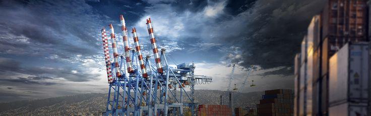 Muestra la maravillosa imagen del puerto de Valparaiso