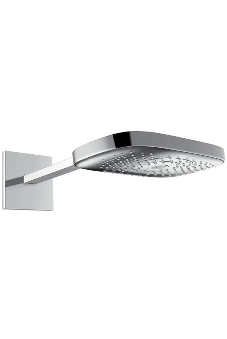 26468400 Raindance Select Верхний душ E 300 3jet, держатель 390 мм, белый-хром