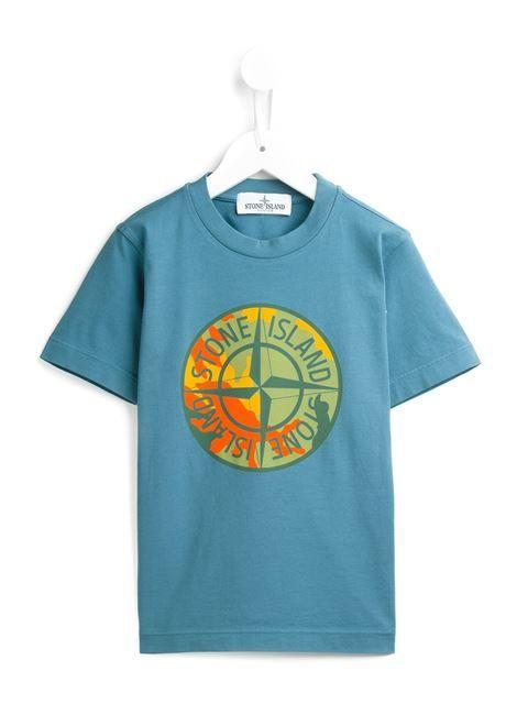 ショッピング Stone Island Kids ロゴ入り Tシャツ in Stefania Mode from the world's best independent boutiques at farfetch.com. 世界のセレクトショップ400店を1つのサイトで.
