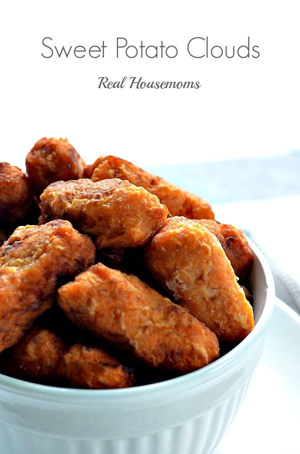 Sweet Potato Clouds   Real Housemoms   These are a bite of Heaven!