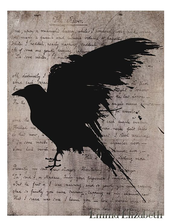 The three black crows poem summary