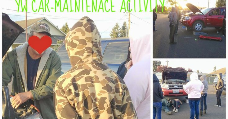 Car maintenance mutual activity