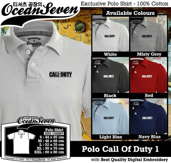 Polo Shirt - Polo Call Of Duty 1