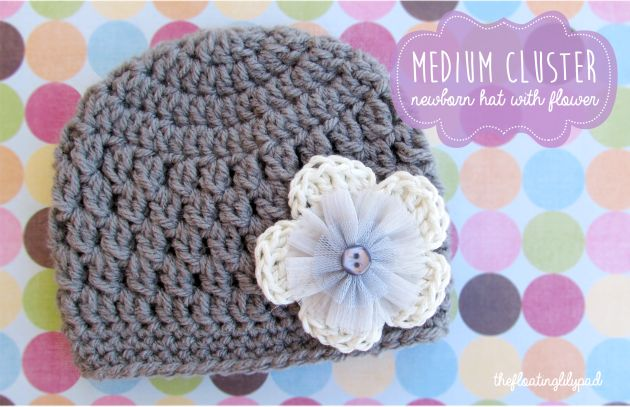 Medium Crochet Flower Pattern : Best 25+ Newborn crochet hats ideas on Pinterest