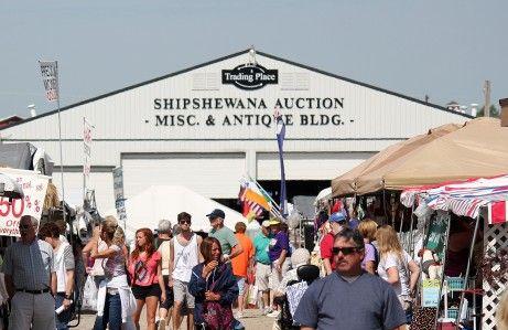Midwest's Largest Flea Market, Shipshewana, IN