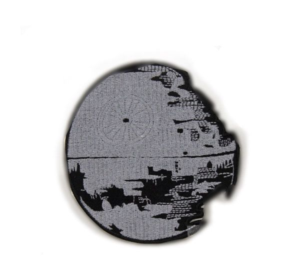 Star wars patch Death Star II patch logo patch badge patch Embroidered patch Sew on patch Iron on patch Applique