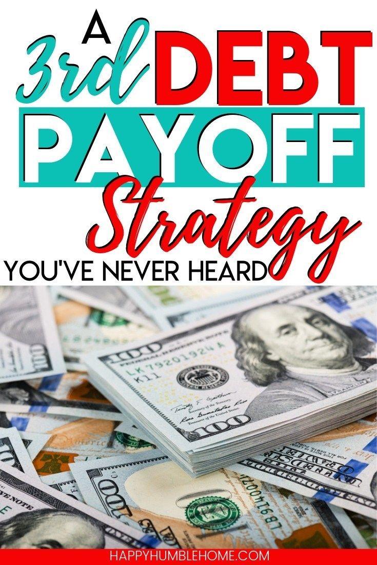 Third Debt Payoff Strategy