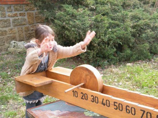 La meule - jeu bois géant adresse estaminet