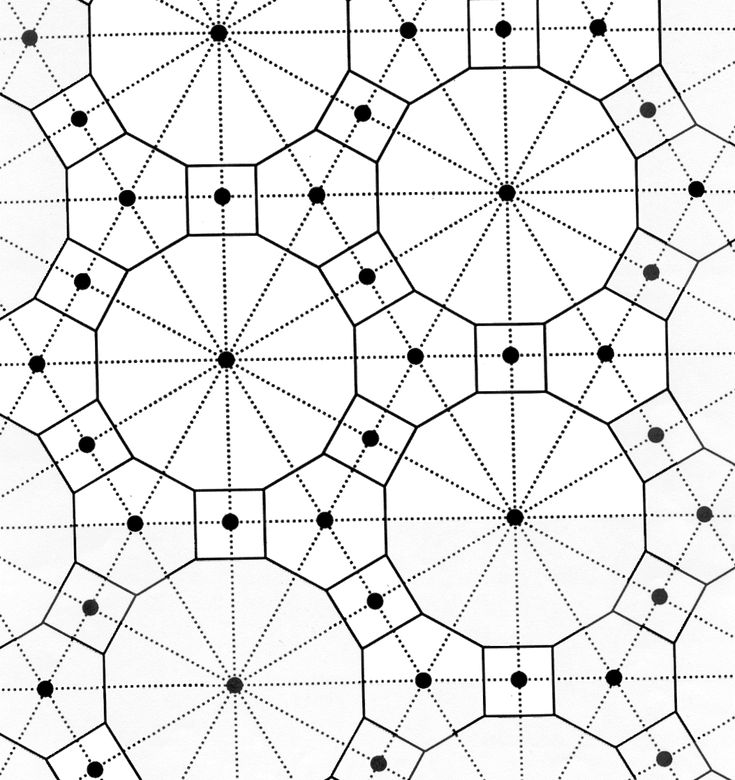 Coloring Page Tessellation Patterns