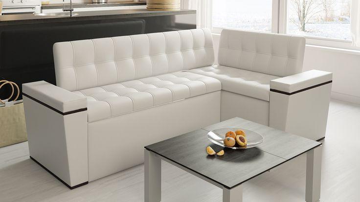 Скамья угловая со спальным местом «Брайтон» (новинка) купить за 16 990 руб   Мебельный интернет-магазин ТриЯ