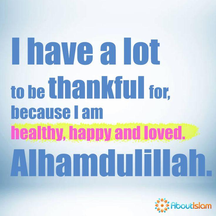 Alhamdulillah!   #Islam #Alhamdulillah #Thankful