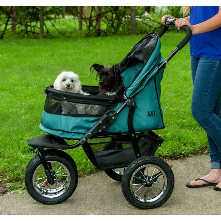 NoZip Double Jogger Stroller Pet stroller, Pet gear