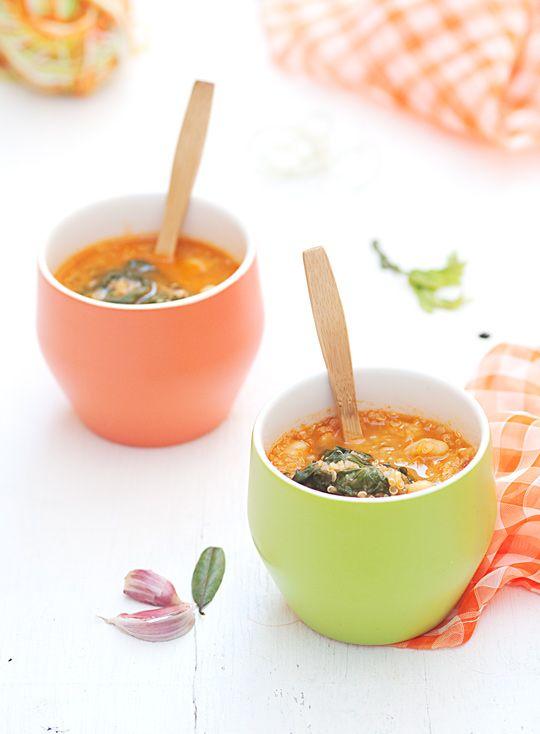 sopa de quinoa e agriões - Sabores de Canela