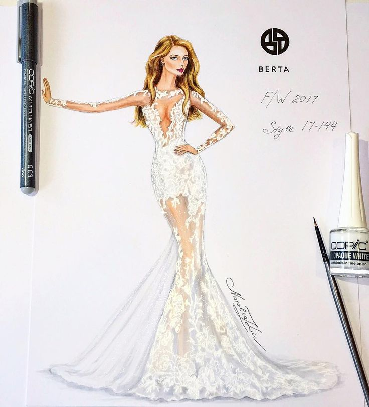 "Gorgeous wedding gown F/W2017 by @bertabridal  #berta #bertabridal #luxury #designer #glamour…"""