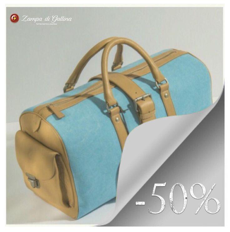 It's always summer somewhere!  Fratelli Noviello handbag. http://www.zampadigallina.com/leather-and-cansvas-handbags-8714124.htm