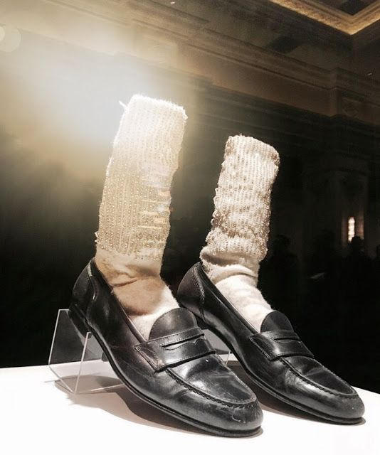 Michael Jackson's Shoes Displayed at MJ ONE