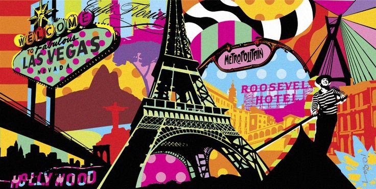 OLD NEW | WORLD | LOBO | POP ART www.lobopopart.com.br