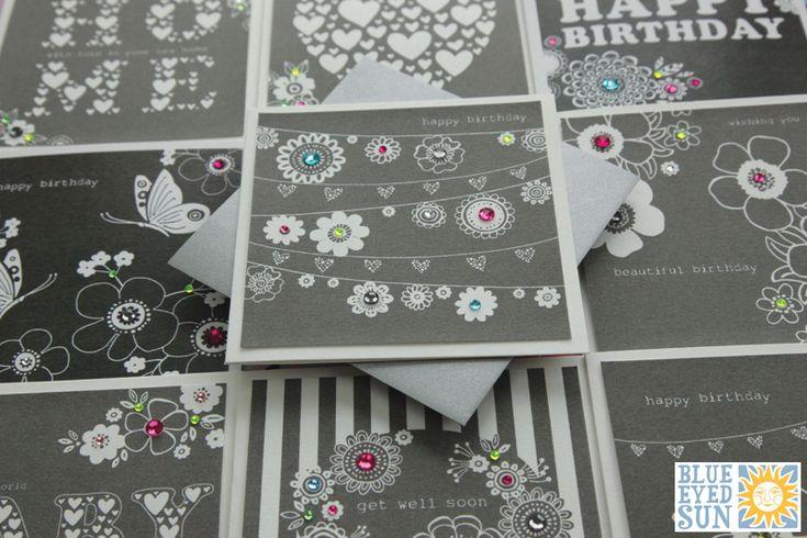 Fleur Greeting Cards - Blue Eyed Sun