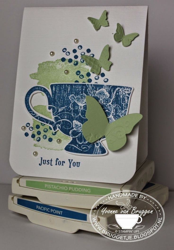 Yvonne's Stampin' & Scrap Blog: Stampin' Up! card Just for you