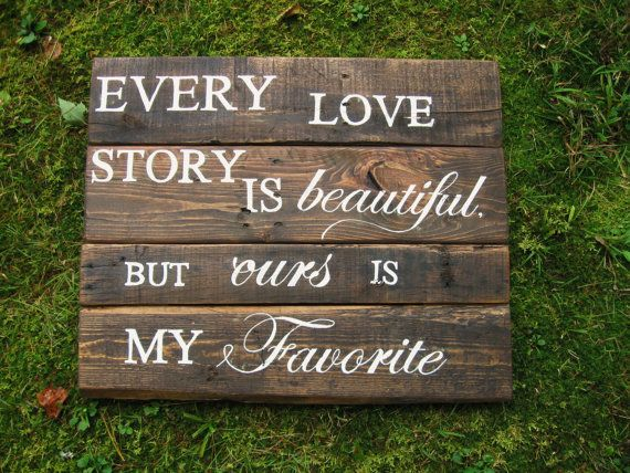 Reclaimed Wood 24 X 20 Rustic Wedding Decor Sign Wall Newlywed Every