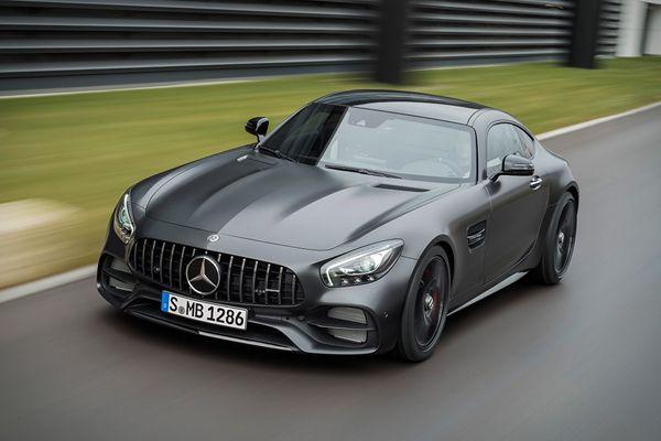 Limited-Edition Mercedes-Benz AMG GT C Edition 50 | Baxtton