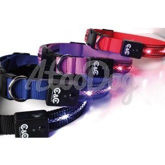 collier pour chien lumineux 40-60 cm - 18.90e