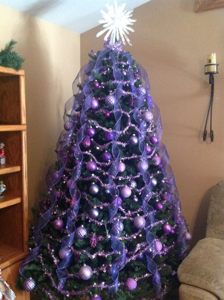 best 25 purple christmas tree ideas on pinterest purple christmas tree decorations purple. Black Bedroom Furniture Sets. Home Design Ideas
