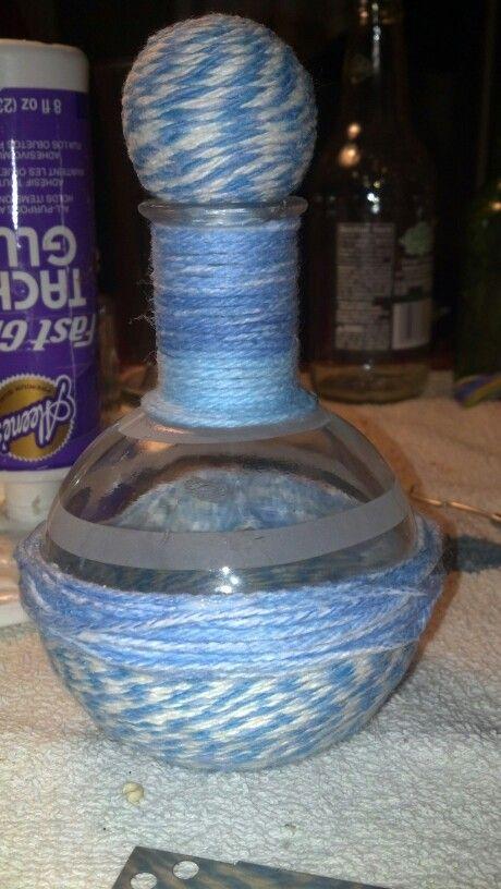 Jeannie Blue Bottle