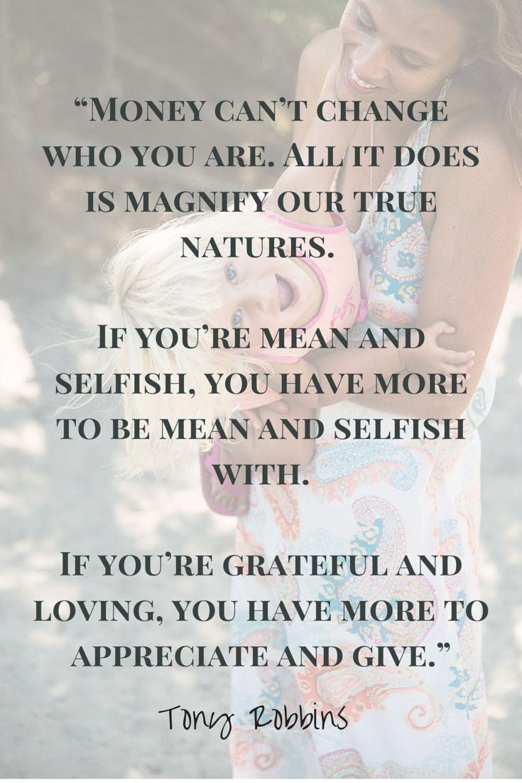 Tony Robbins money quote - Click inside for 15 ways to treat money right!