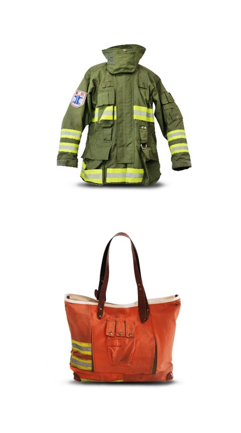 ZACKS is a unisex tote bag released from our popular Fireman's Collection. This large sized tote has a silhouette that everyone can enjoy. The asymmetry design and used texture came from our Fireman's Collection will create a mode look.