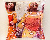 African Life Range - Gates of Heaven cushions