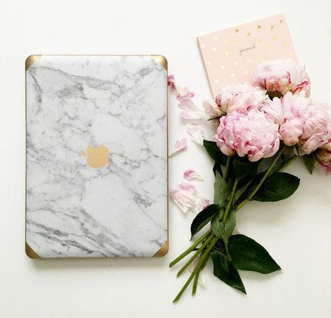If a marble countertop or backsplash isn't an option for you, consider fabulous marble kitchen, bathroom and home accessories instead!