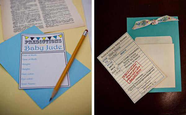 Such a cute idea for a book party.
