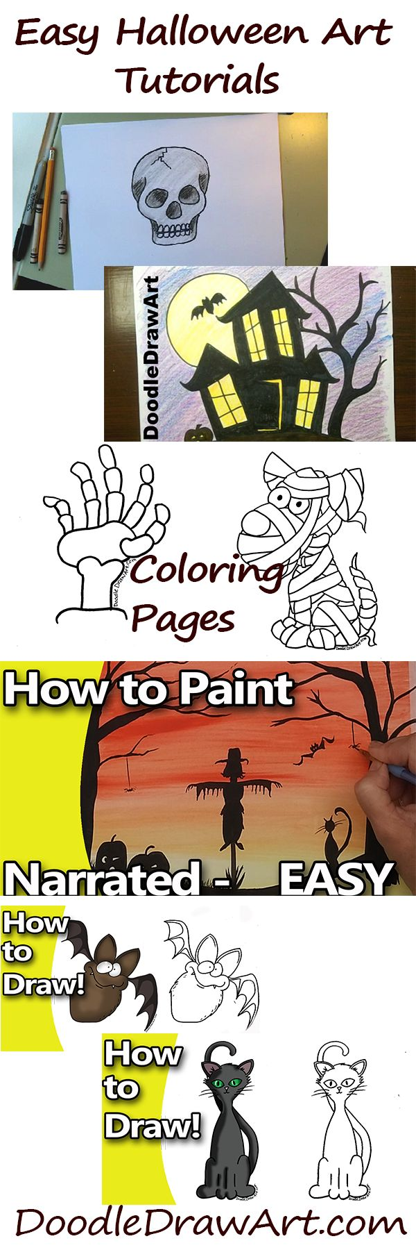 11 best halloween drawing and art ideas images on pinterest