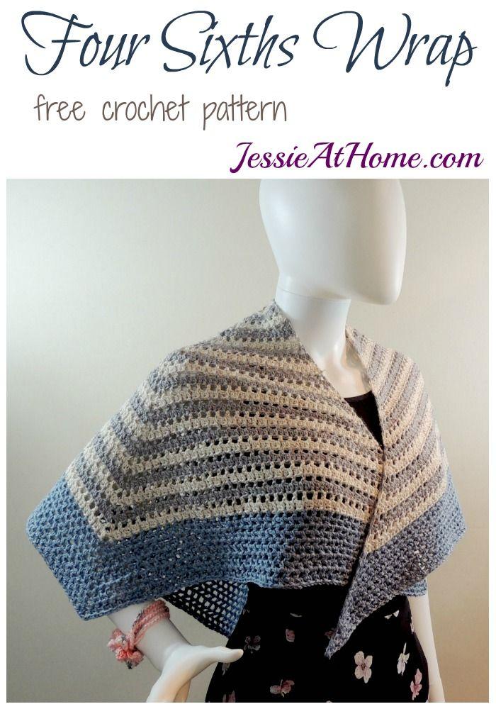 Mejores 289 imágenes de Crochet Circle Shawl en Pinterest | Ponchos ...