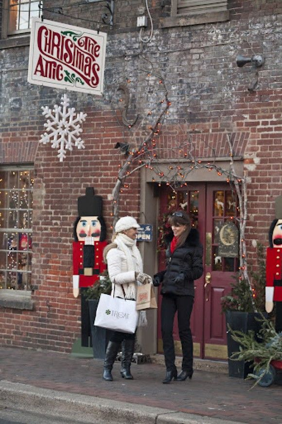 The Christmas Attic in Alexandria, Virginia... Been here to buy annual ornaments for the kids on a summer visit!