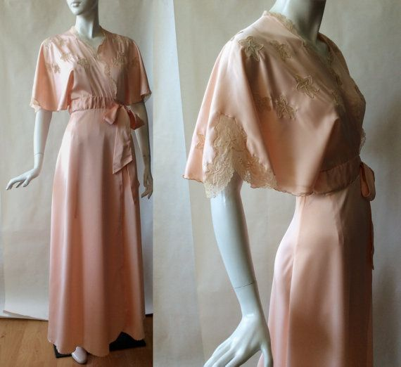 Vintage Janet Reger of London wrap silky by afterglowvintage